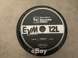 1 X EVM 12L Electro Voice 200 Watt Speaker EV-12L Mesa Boogie EUC SH FREE