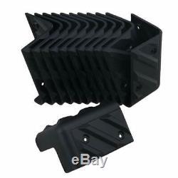 12pcs Plastic Corner Protector for Speaker Cabinet Guitar Amplifier 90 Degree