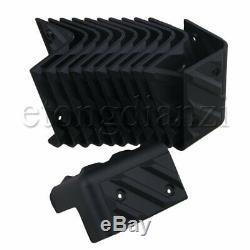 12x Corner Protector for Speaker Cabinet Guitar Amplifier 90 Degree Black