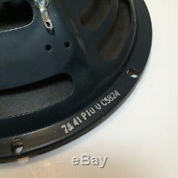 1950's Jensen P10Q 10 8 Ohm AlNiCo Guitar/Amplifier Speaker Original Vintage #2