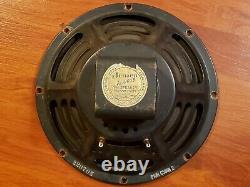 1957 JENSEN P10R 10 Vintage Rare Amp Speaker