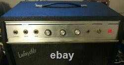 1960's Lafayette tube guitar amp. Recently Serviced. Vintage Tubes. Jensen Speaker