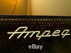 1960s Ampeg Portaflex Flip Top Vintage Tube Bass Amp & Speaker combo Very Nice