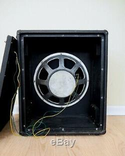 1960s Vox Foundation Bass 1x18 Vintage Speaker Cabinet with Trolley, JMI