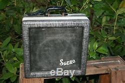 1962 Vintage Valco Supro 1606 or 1600 Jensen Speaker Tube Amplifier Amp Hendrix