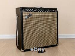 1965 Fender Super Reverb Blackface Vintage Tube Amp AB763 with Ceramic Speakers