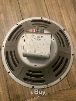 1965 Jensen P12R Vintage 12 Guitar Amp Speaker Vintage