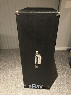 1969-70 Sunn cabinet with Eminence 4x12 Alnico Speakers. Very Clean. All Original