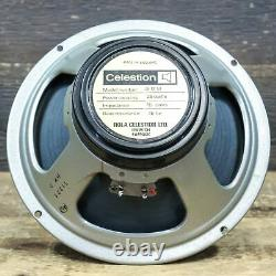 1970's Rola Celestion G12M Blackback 25-Watt 16-Ohm 12 Guitar Speaker #T1221