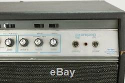 1972 Ampeg SVT Bass Tube Amplifier Head with Matching 8x10 Speaker Cabinet #38206
