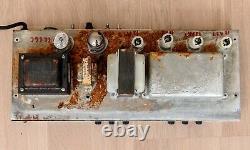 1973 Fender Bassman 50 Vintage Silverface Tube Amp with 2x15 Speaker Cabinet