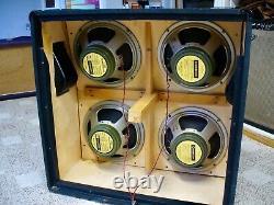 1973 Marshall 4X12 (Celestion Greenbacks) Plexi Speakers - 1 Pre-Rola, JMP JTM