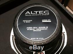 1978 Dumble 2 X 10 Altec Speakers Rare Tone Focus baffle