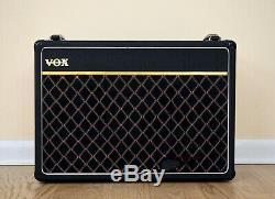 1981 Vox V15 Vintage 2x10 Tube Amplifier UK-Made EL84 with Fane Speakers, AC15