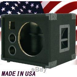 1X12 Bass Guitar Empty Speaker Cabinet Black Carpet BG1X12HT