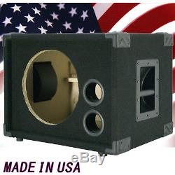 1X12 Bass Guitar Empty Speaker Cabinet Black Carpet BG1X12S