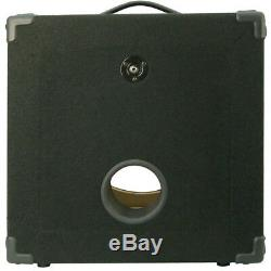1X15 Bass Guitar Empty Compact Speaker Cabinet black carpet 440LIVE MBG1X15-BC