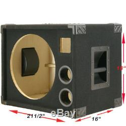 1X15 Compact Empty Bass Guitar Speaker Cabinet 440LIVE BG115SH