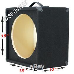 1X15 Empty Guitar Speaker Cabinet For 15 JBL E130/E140 Black carpet G1X15STBC