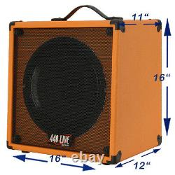 1x12 Guitar Speaker Extension Cab With 8 Ohms CELESTION VINTAGE 30 Orange Tolex