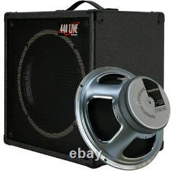 1x12 Guitar Speaker Extension Cabinet With16 Ohms CELESTION G12K100 C Blck Tolex