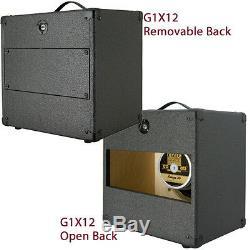 1x12 Guitar Speaker Extension Cabinet With8 Ohms CELESTION G12H-30 C Black Tolex