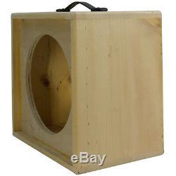 1x12 solid Pine, Raw wood Extension Guitar speaker Empty cabinet G1X12ST RW