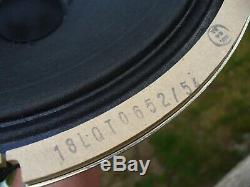 2005 Celestion/Marshall T-652 Alnico Speakers - Speaker Doctor Bench Tested