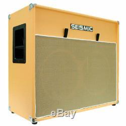 212 GUITAR SPEAKER CAB EMPTY Cabinet ORANGE TOLEX 2x12