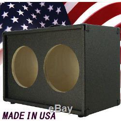 2x10 Guitar Speaker empty Cabinet Charcoal black Texture Tolex G2X10ST