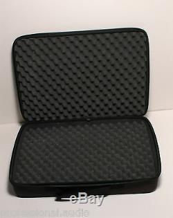 3x SHURE STORAGE CASE FOR WIRELESS MICS, CABLES, IN-EAR MONITORS, GUITAR PEDALS