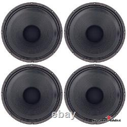 4-PACK Peavey Blue Marvel Classic-1238-4 ohm guitar speaker Eminence made in USA