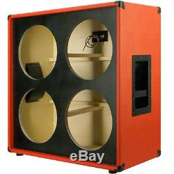 4x12 Guitar Speaker Empty Cabinet fire red Tolex US Made Birch ply G4X12ST FRTLX