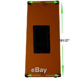 4x12 Guitar Speaker Extension Cabinet withG12K100 Celestion Speakers Orange tolex