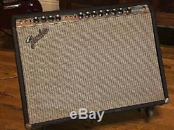 70s Fender Twin Reverb Custom Bias Mod Jensen C12N speakers JJ 6L6 tubes