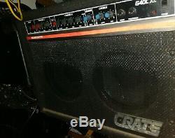 80s Crate G40cxl guitar Amp stereo chorus reverb celestion speakers distortion
