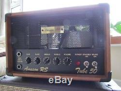Ameson Rs50 Jazz Guitar Valve Amplifier + Ev Speaker Cabinet Superb Sound