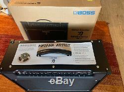 BOSS Katana Artist Mk II With WAZA G12 Speaker