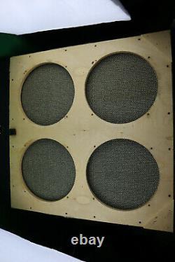 Baffle 4x12 60s Marshall Basketweave Guitar Bass Speaker bottom Cab 1960 Vintage