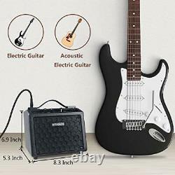 Best Brand B9 Electric Guitar Amp Mini Rechargeable Guitar Amplifier Speaker