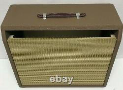Brownface DeluxeStyle 1x12 Guitar Amplifier Combo Speaker Cabinet