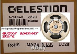 Celestion G12H 30W Anniversary 16ohm UK-made 12 inch Guitar speaker (NIB) G12