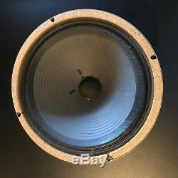 Celestion G12M Black Back Speaker 55hz 16 ohm R/C original cone T1221 frame-1975
