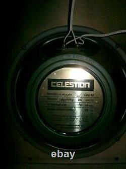 Celestion G12M25 Greenback Guitar Speakers English, 1989 Vintage