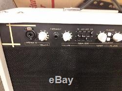 Cort AF60 acoustic guitar amplifier, 60 watts, 2 x 8 speakers, mic input, used