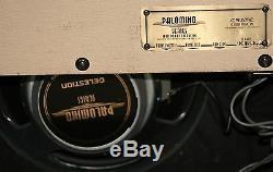 Crate Palomino V32 30 watt EL 84 Tube amplifier. Celestion Speaker, MADE IN USA