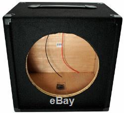 Electric Guitar 1X12 Empty 12 Speaker Carpet Cabinet Enclosure Box 1/4 Jack