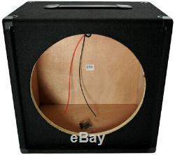 Electric Guitar 1X15 Empty 15 Speaker Carpet Cabinet Enclosure Box 1/4 Jack