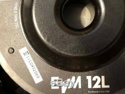Electrovoice EVM12L Black Label Zakk Wylde Signature 12 Guitar Speaker 8 Ohm
