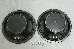 Eminence 10 Bass Cabinet Speakers X2 Pair 8 OHM